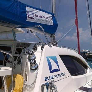 Blue Horizon Maldives adventure sail action holiday sailing motoryacht surfhellip