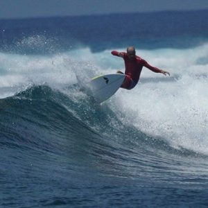 Surf is up no crowd holidaytime burnout ride maldives huvadhoohellip