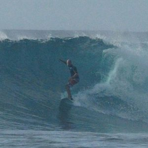 No crowd Huvadhoo surf Swell wave awesome stoked ride maldivashellip