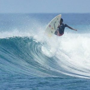 Horizon2 in Huvadhoo Atoll pumping waves lineup surf travel holidayhellip