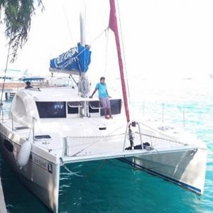 wwwhorizonsailmv Along side HulhuMale maldives sail cruise yacht sailing dayhellip
