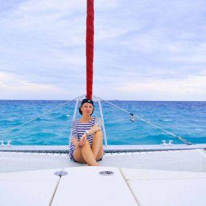 Horizon Blue maldives urlaub schiff yacht sail catamaran malediven maldivashellip