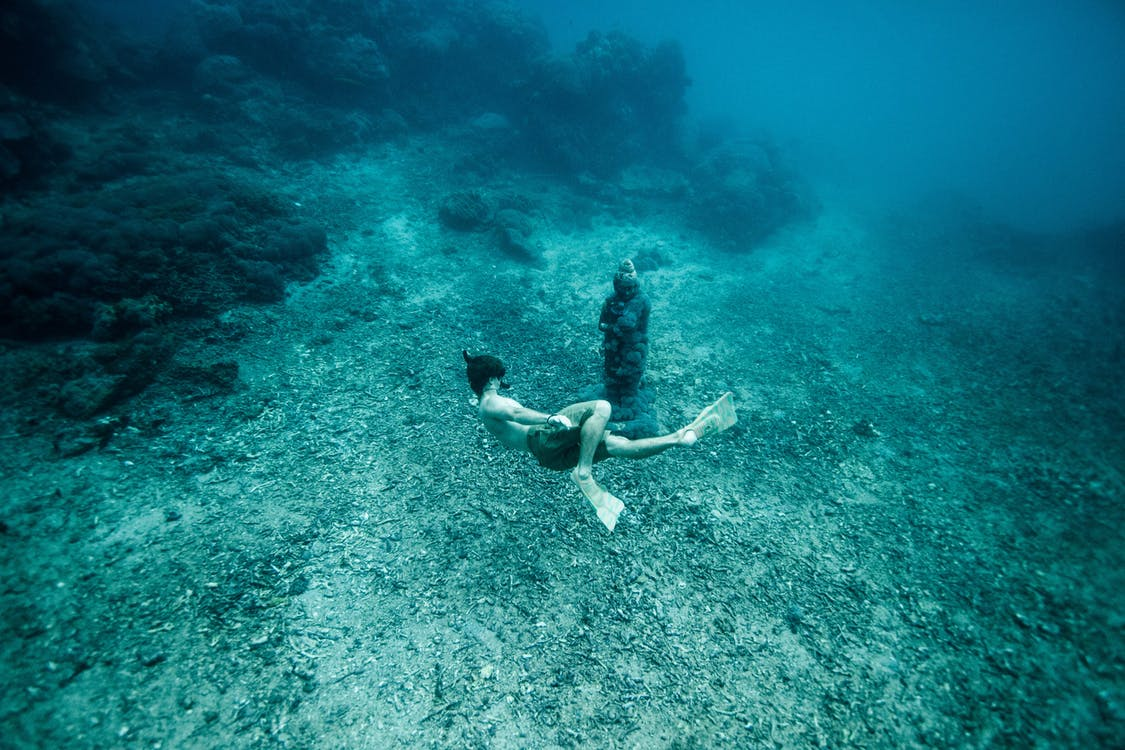 Meet the Free diving Couple Who Make Stunning Underwater Photos With No Scuba Gear
