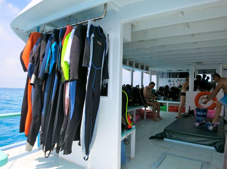 Dive Boat Guests